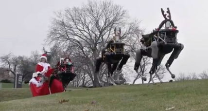 Robotic reindeer raise eyebrows: Will humans ever accept robots as normal?